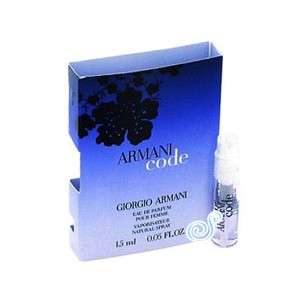 Armani Code by Giorgio Armani for Women Sample