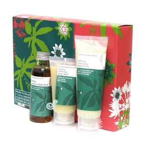 Boots botanics top to toe cleansing trio