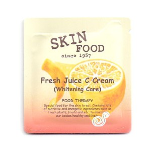 Skin Food Fresh Juice C Cream Sample